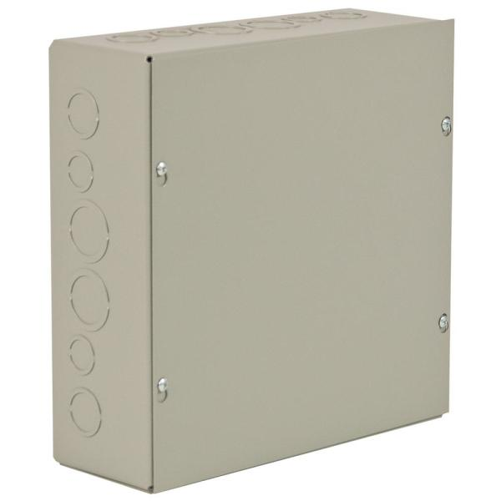NEMA 1 15 in. x 15 in. x 6 in. Carbon Steel Screw Cover Wall-Mount