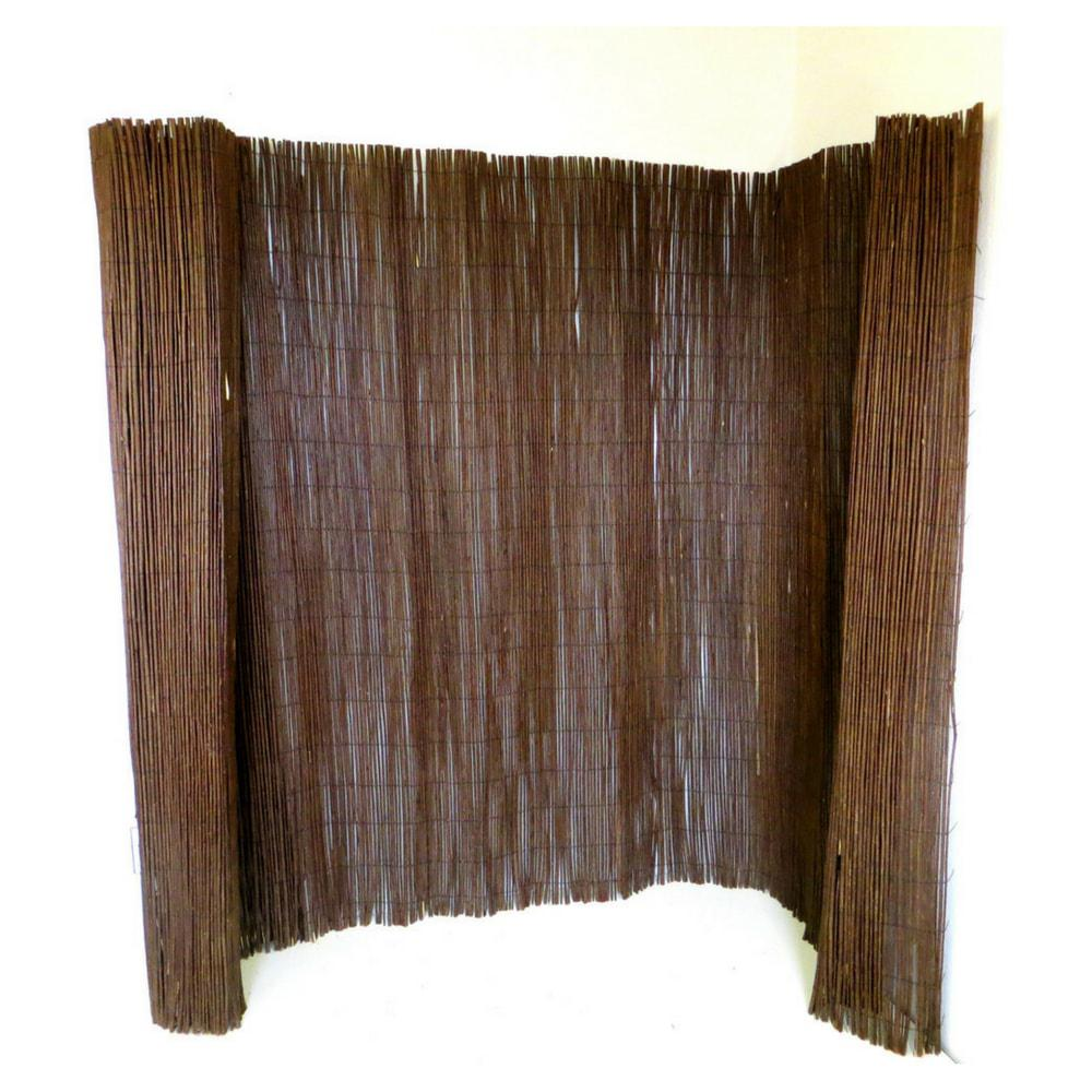 MGP 14 ft. L x 5 ft. H Willow Screen Fence