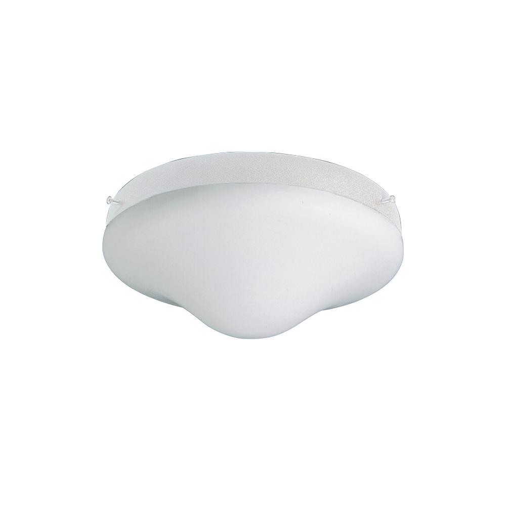 Sea Gull Lighting 2-Light Ceiling Fan Light Kit in White