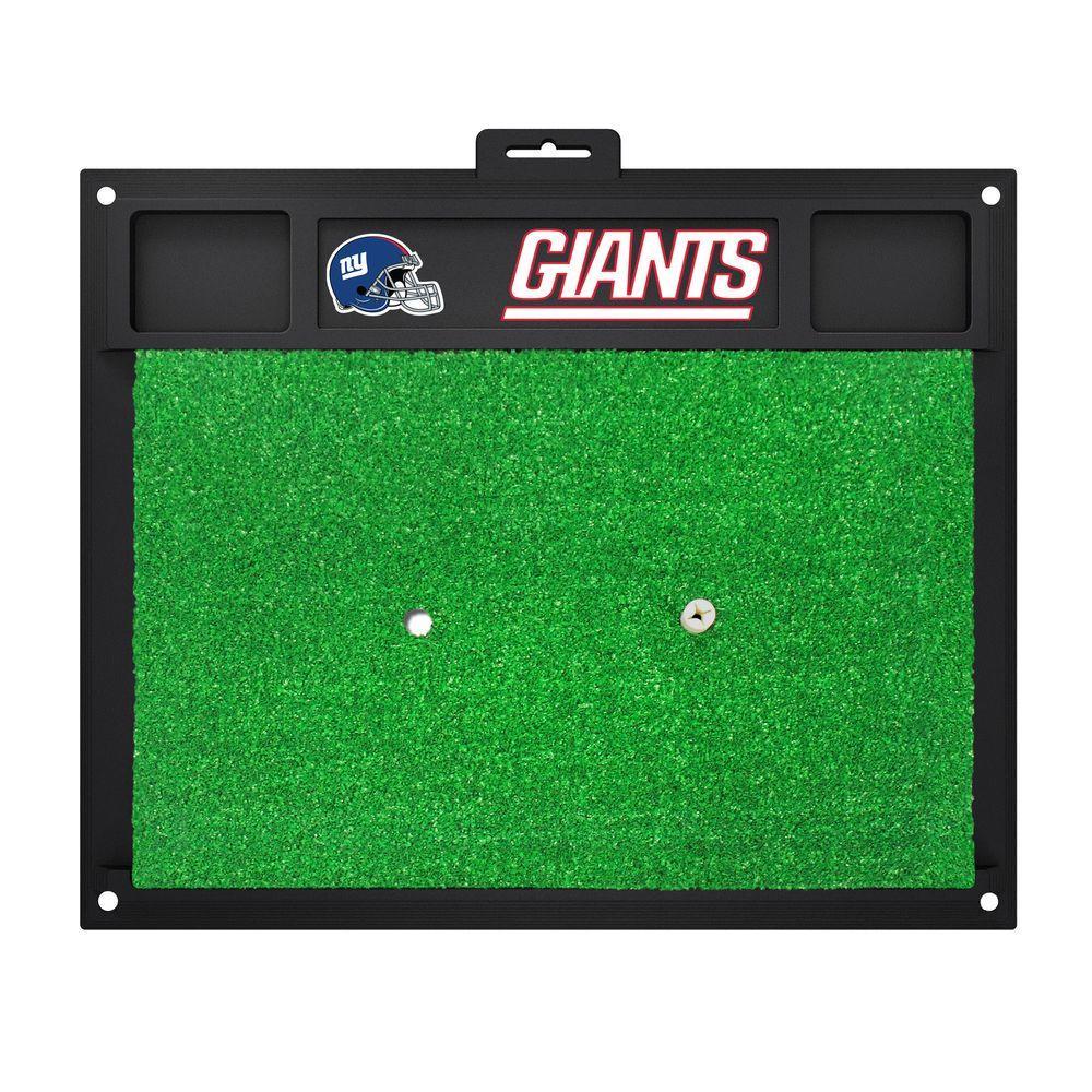 FANMATS NFL New York Giants 17 in. x 20 in. Golf Hitting Mat