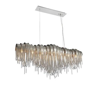 Shirley 10-Light Chrome Chandelier