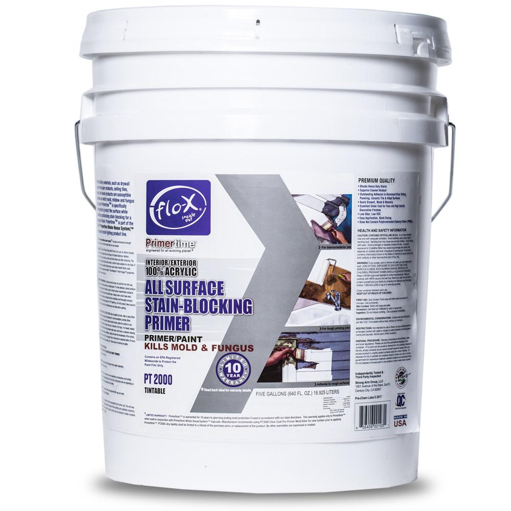 Flo-X Contractor Pro 5 Gal. Primertime All Surface Stain Blocking Primer
