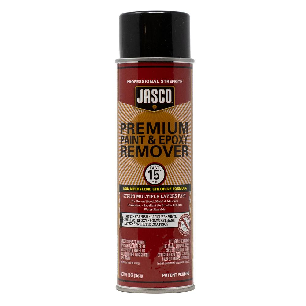 Jasco 16 Oz Premium Paint And Epoxy Remover Aerosol Ca Formula