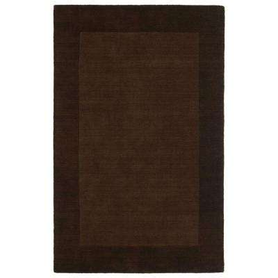 Regency Brown 4 ft. x 5 ft. Area Rug