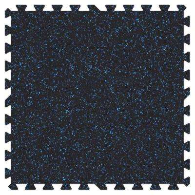 Blue Speck 24 in. x 24 in. Rubber Comfortable Mat (48 sq.ft. / Case)