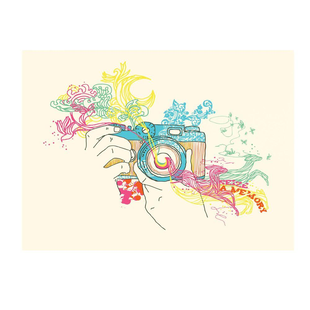 null 35 in. x 47 in. Seize a Memory Canvas Art