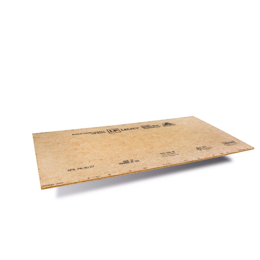 Legacy LP 23/32 in. x 4 ft. x 8 ft. T&G OSB Panel