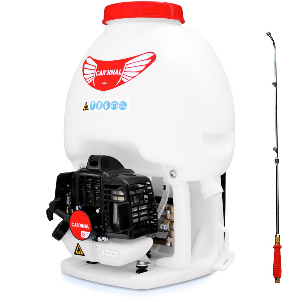 Cardinal 1 8 Hp Gas Powered Backpack Sprayer For Pest Control And Sanitation Cps435 The Home Depot