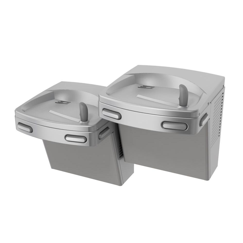 Barrier-Free Split-Level Versacooler II Push-Button Refrigerated Drinking