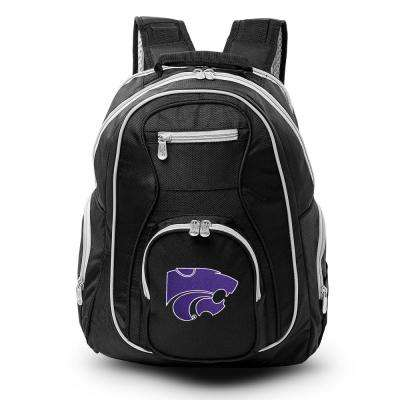 Denco Ncaa Kansas State Wildcats 19 In Black Trim Color Laptop Backpack Clksl708 The Home Depot