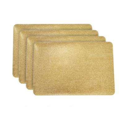 Galaxy Gold Rectangular Shaped Placemat (Set of 4)
