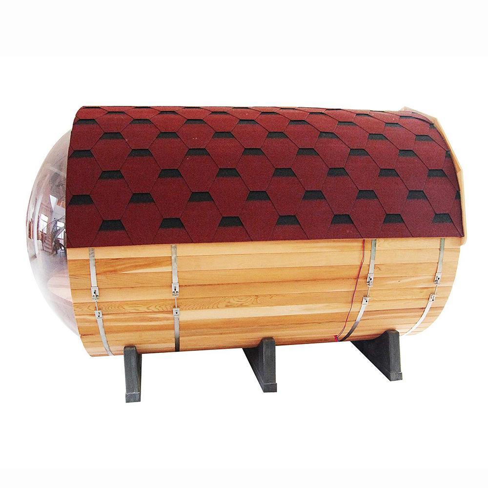 5-Person Canadian Red Cedar Electric Heater Sauna