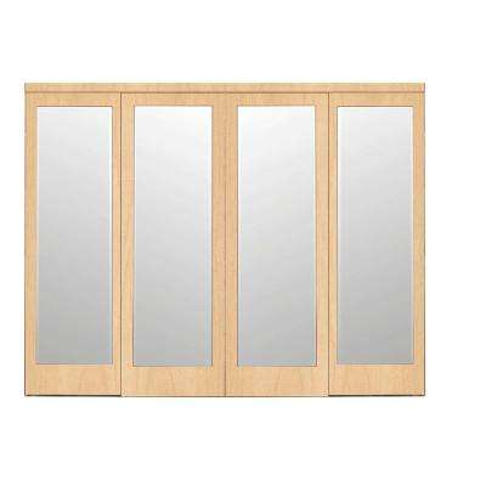 4 Panel Sliding Doors Interior Closet The Home Depot