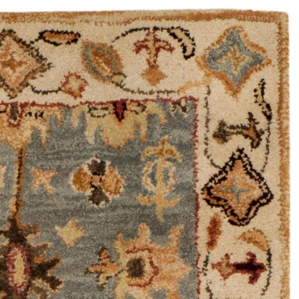 Safavieh Antiquity Blue Ivory 2 Ft X 8 Ft Runner Rug At847a 28 The Home Depot