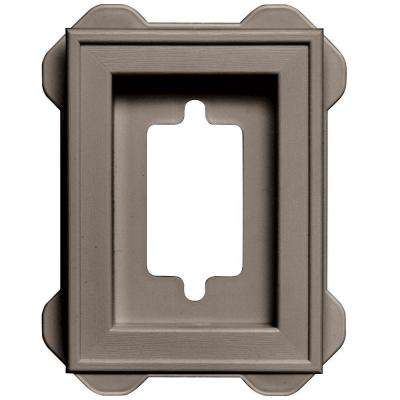 7.75 in. x 7.75 in. #008 Clay Recessed Mini Mounting Block