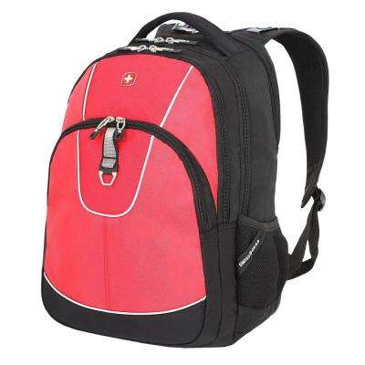 18.5 in. Red Computer Backpack