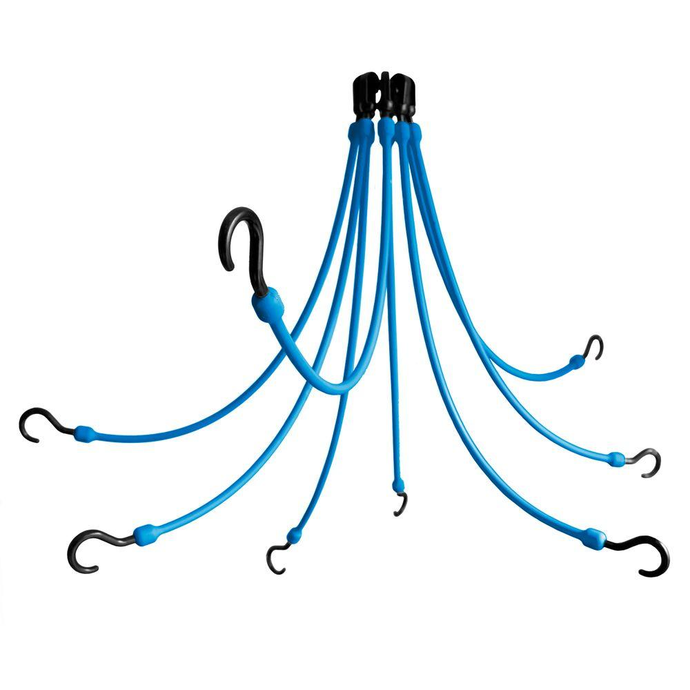 24 in. Polyurethane Flex Web with Eight Arms in Blue