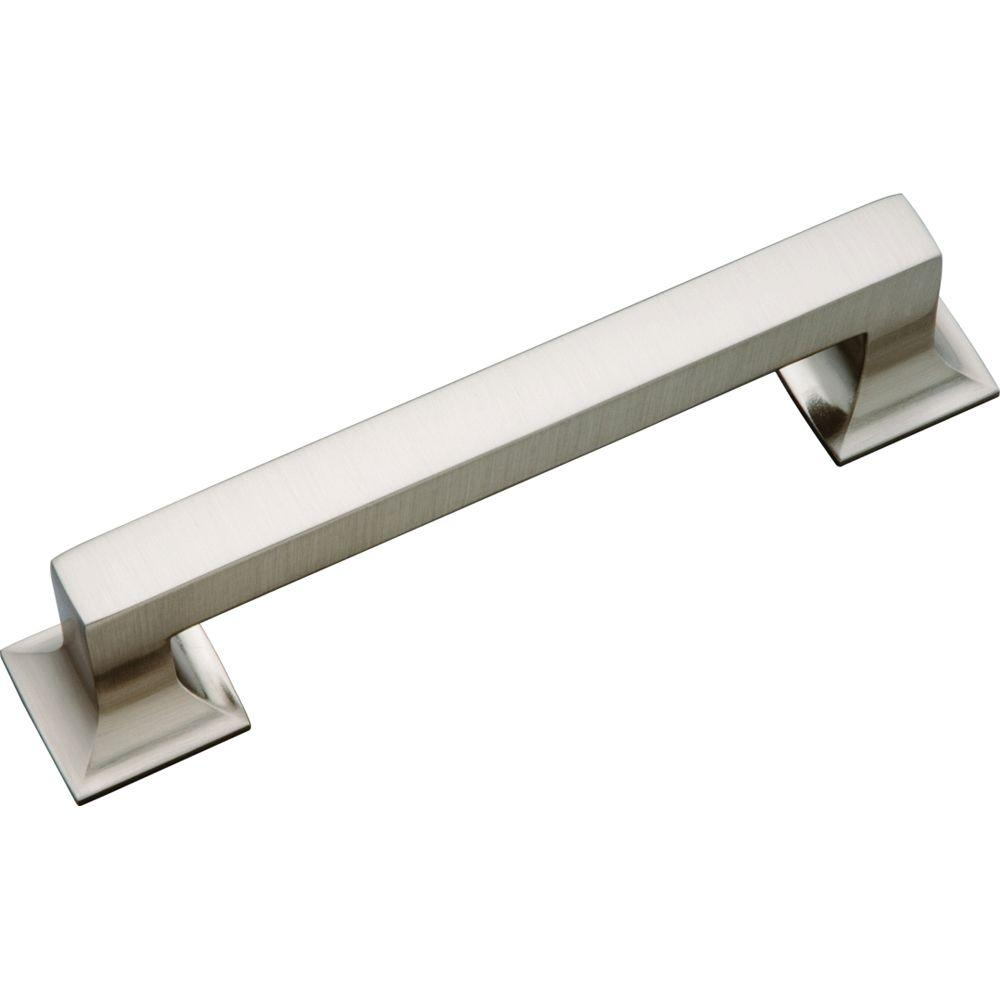 Hickory Hardware Studio 128 Mm Stainless Steel Cabinet Pull