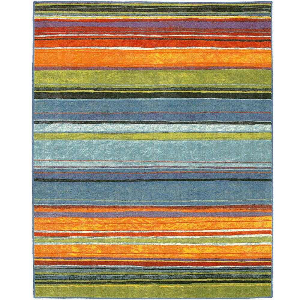 Mohawk Home Rainbow Multi 10 Ft X 10 Ft Square Indoor