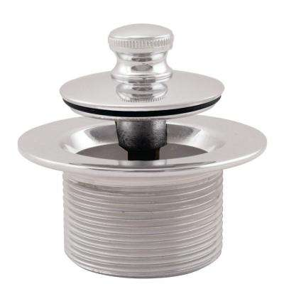 1-1/2 in. NPSM Coarse Thread Twist and Close Bath Drain Plug