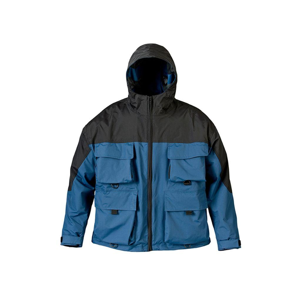 Mossi Mens SX 3 Large Rain Jacket in Royal Blue