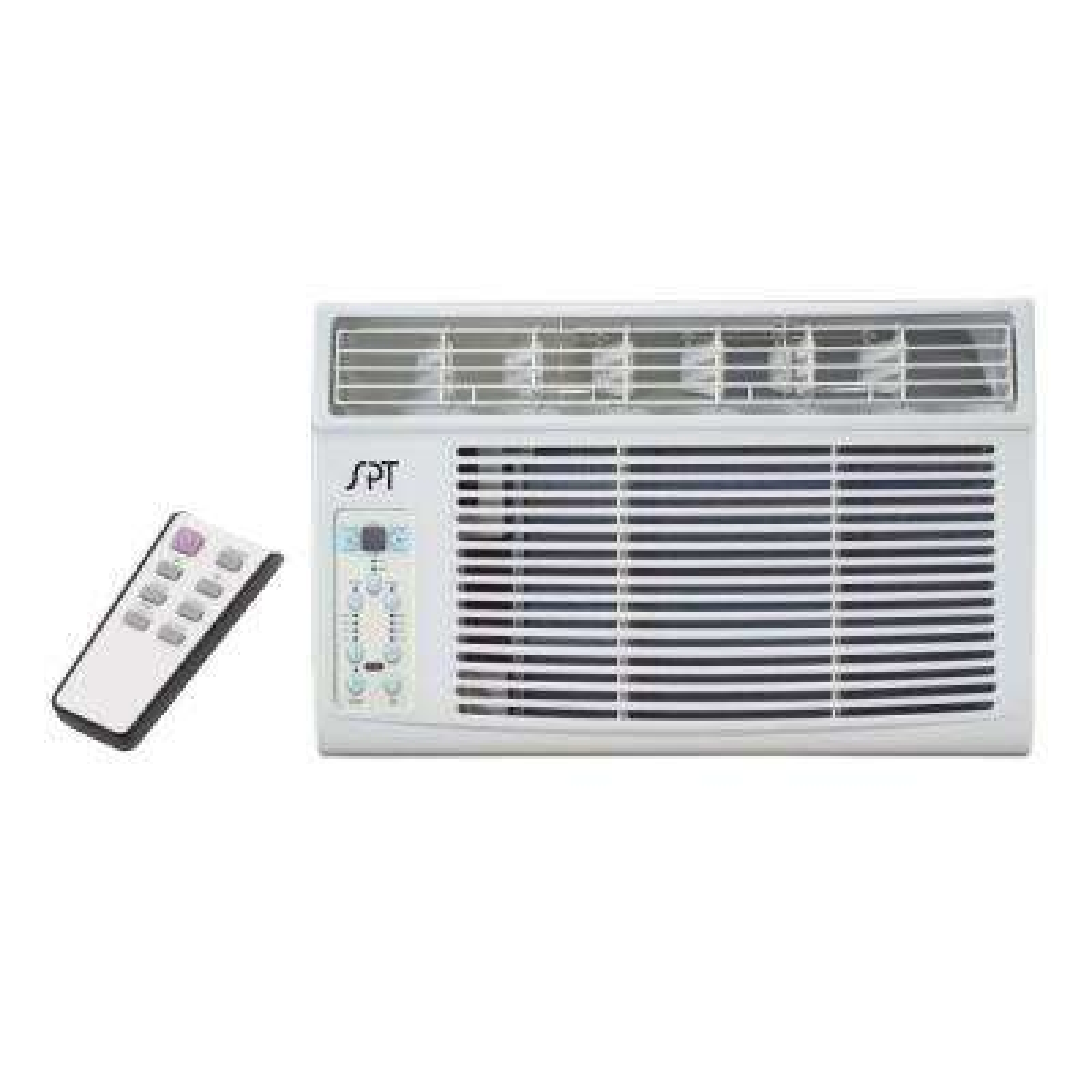 8,000 BTU 115V Window Air Conditioner with Remote Control