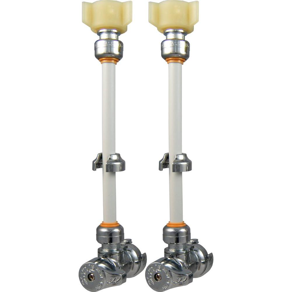 Sharkbite Faucet Connection Kit With Angle Stop Valves