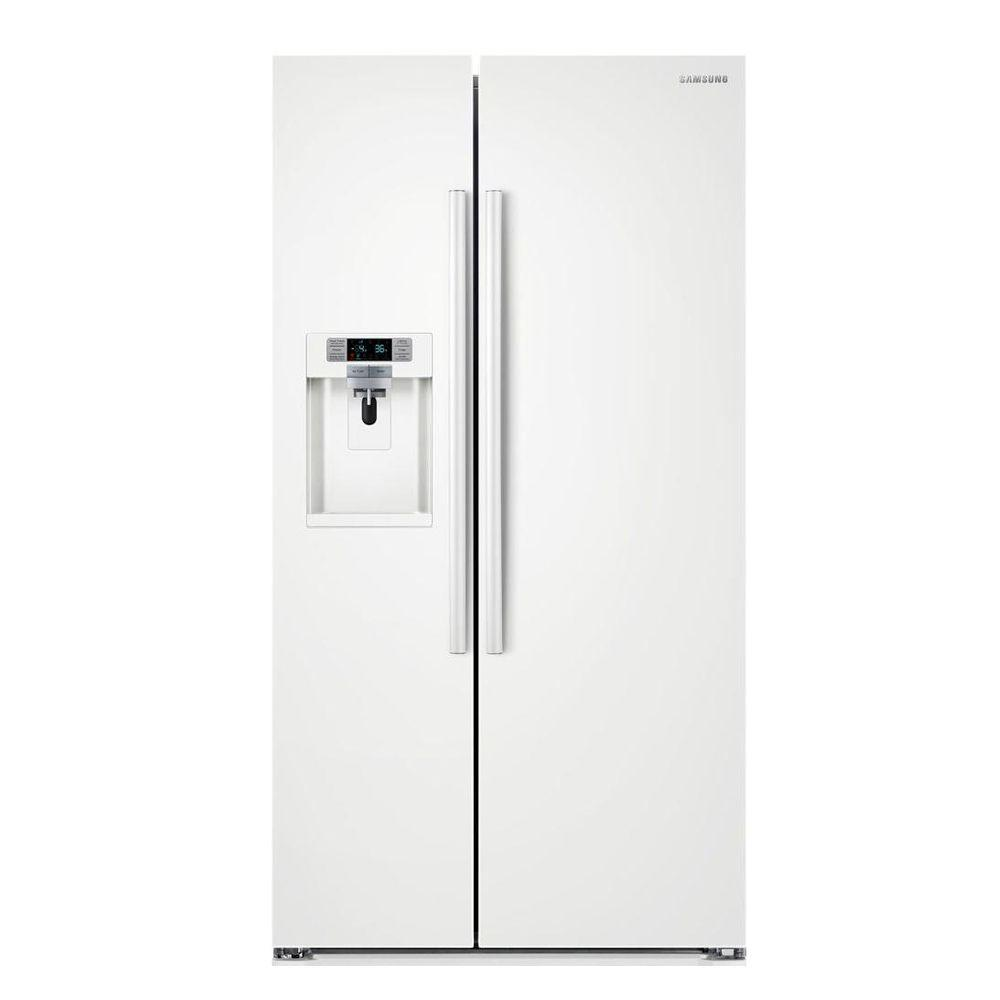 White French Door Refrigerators Refrigerators The Home Depot
