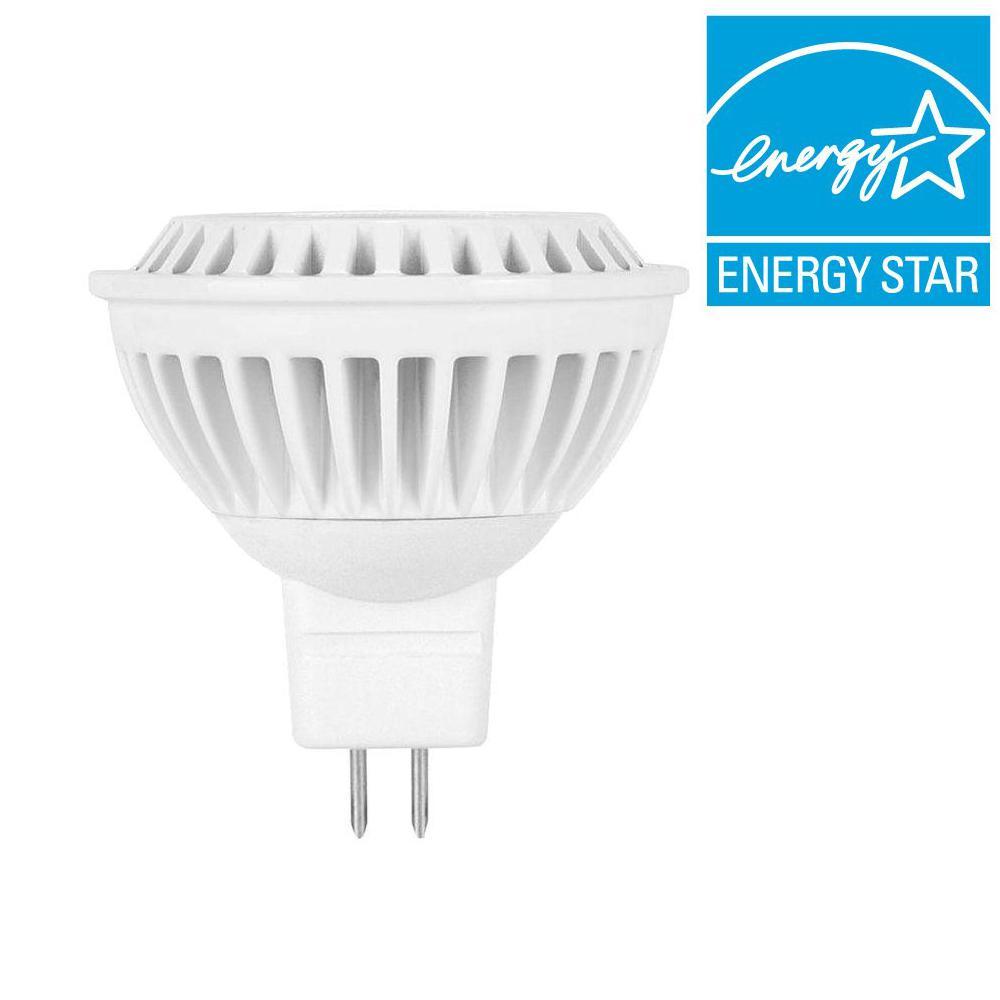 Globe Electric 25W Equivalent Soft White (3000K) Dimmable GU 5.3 Bi Pin Base LED Light Bulb