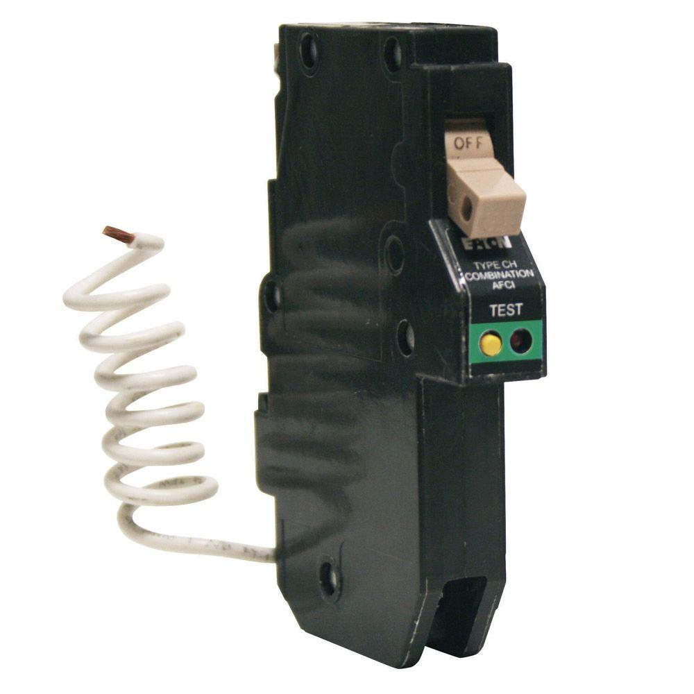 eaton 1 pole breakers chcaf120cs 64_1000 eaton type br 20 amp single pole ground fault circuit breaker  at crackthecode.co