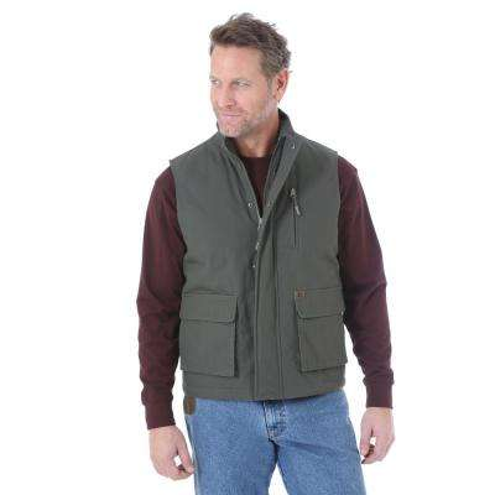 Men's Size XX-Large Tall Loden Foreman Vest