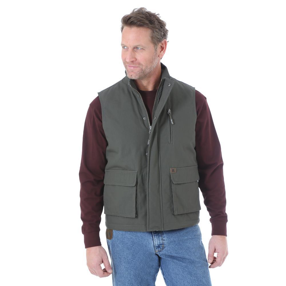 Men's Size Large Tall Loden Foreman Vest