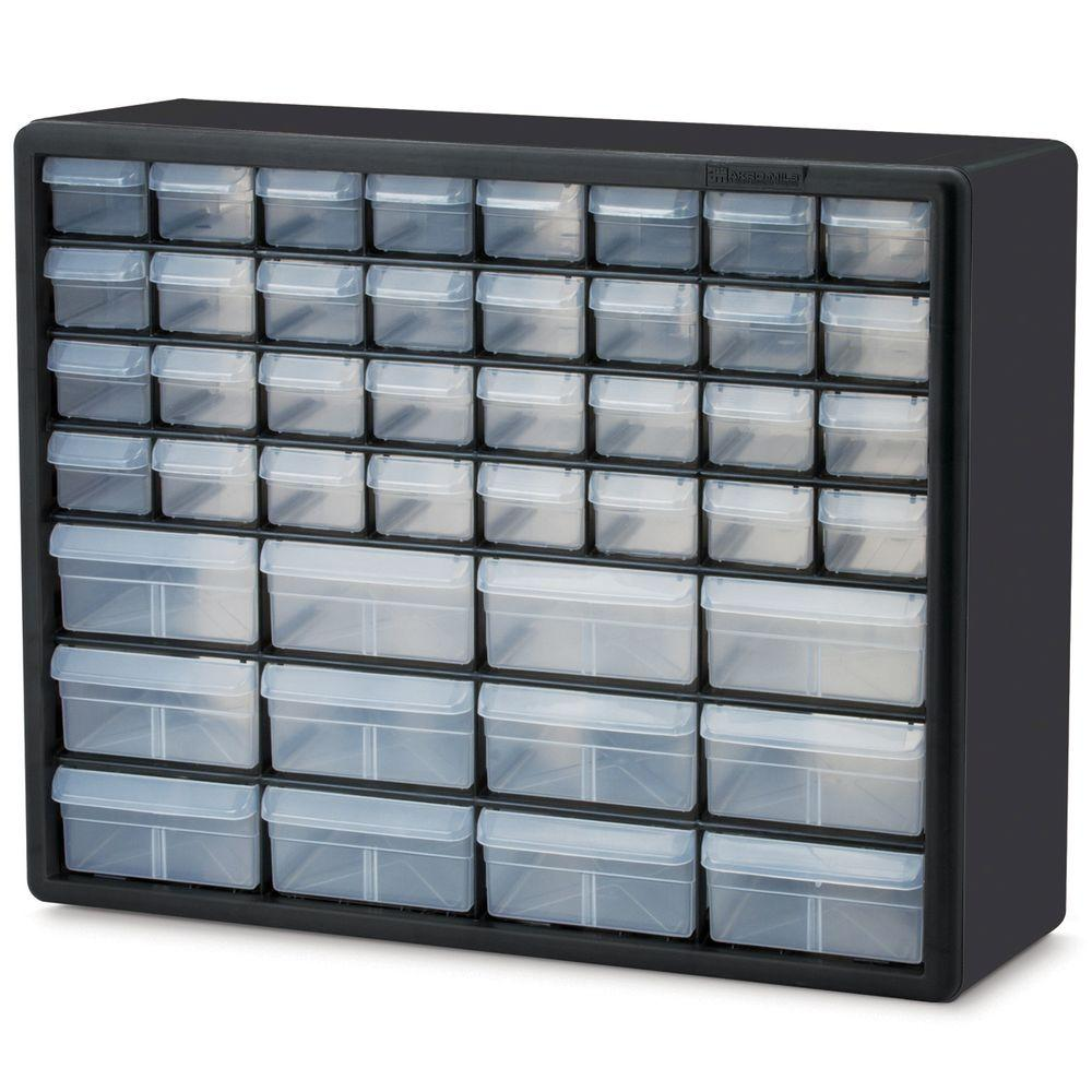 Akro Mils 44 Compartment Small Parts Organizer Cabinet