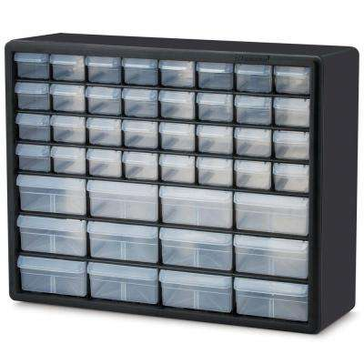 44-Compartment Small Parts Organizer Cabinet