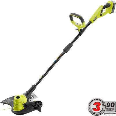 18-Volt Lithium-Ion Cordless String Trimmer/Edger - 4.0 Ah Battery and Charger Included