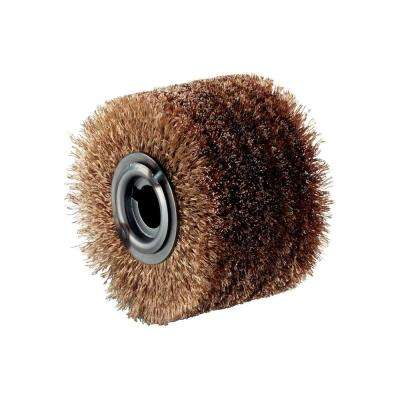 4 in. x 2 3/4 in. Steel Wire Wheel Brush
