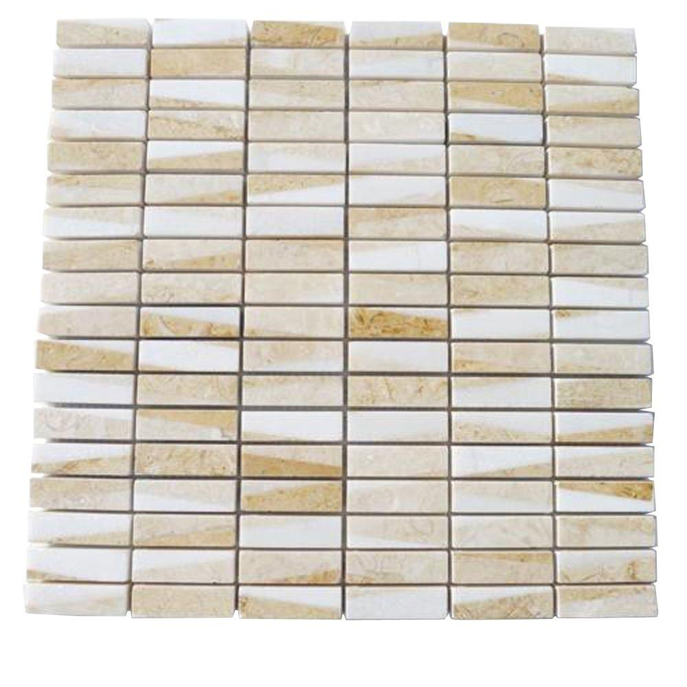 Ivy Hill Tile Great Ulysses 12 in. x 12 in. Marble Floor and Wall Tile