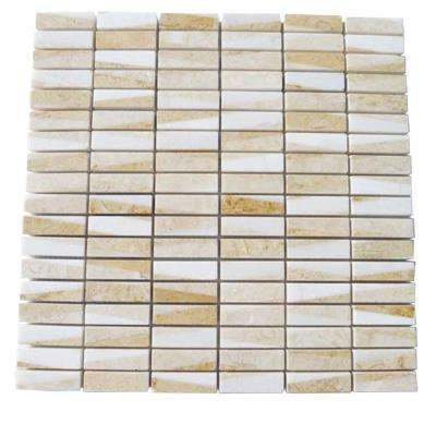 Great Ulysses 12 in. x 12 in. Marble Floor and Wall Tile