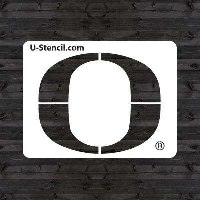"Oregon ""O"" Mini Stencil"