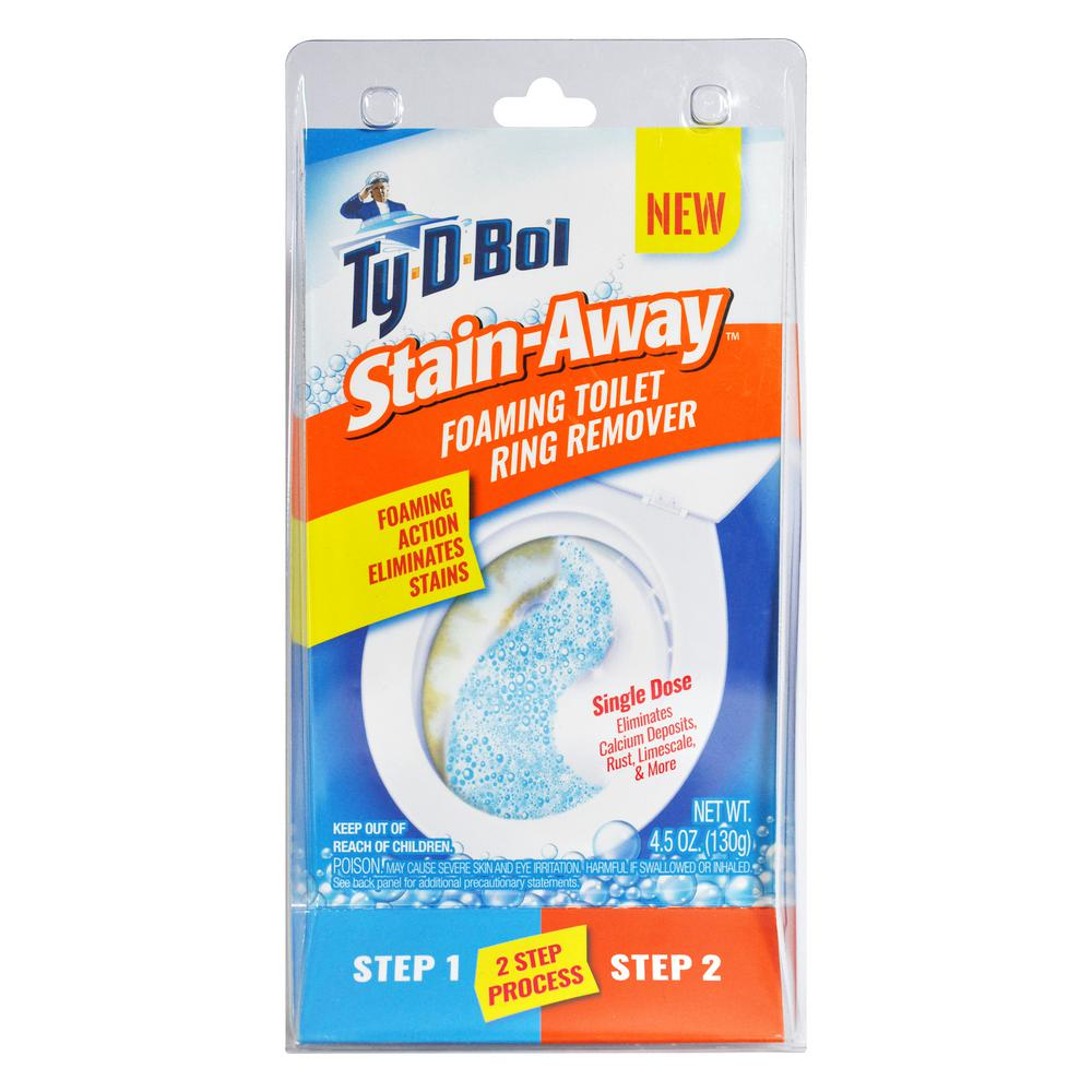Ty-D-Bol 4.5 oz. Stain Away Foaming Toilet Stain Remover (3 Pack)