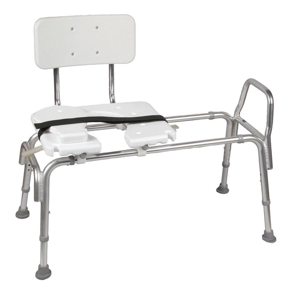DMI Heavy-Duty Sliding Transfer Bench with Cut-Out Seat-522-1734 ...