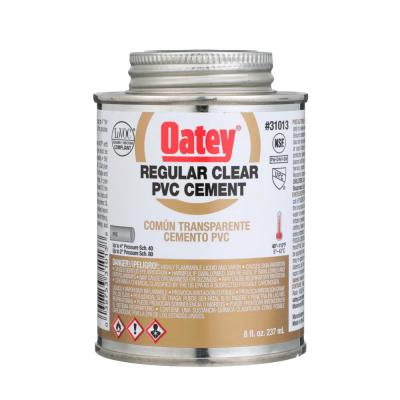 8 oz. Regular Clear PVC Pipe Cement