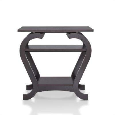 Bach Espresso Sofa Table