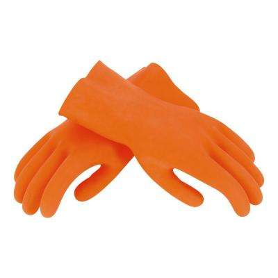 Multipurpose Orange Tile Grouting Gloves