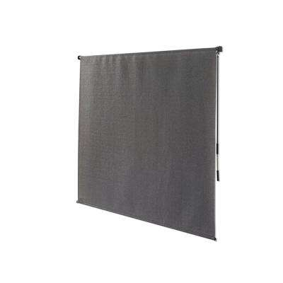 Outback 95 Cut-to-Width Roller Shade Pewter Cordless 72 in. W x 72 in. L