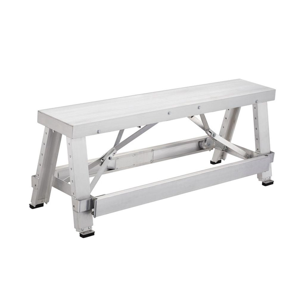 Pentagon Tool 18 in. to 30 in. Adjustable Height Drywall Bench