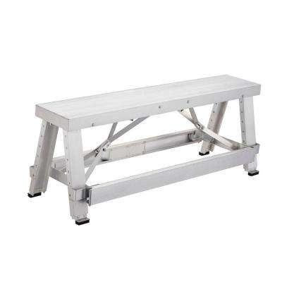4 ft. Adjustable Height Drywall Bench