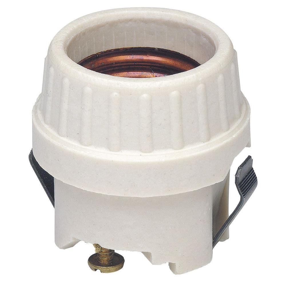 660-Watt Keyless Porcelain Lamp Holder