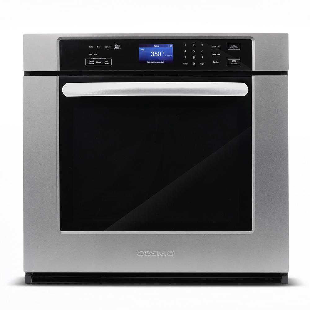 Single Electric Wall Oven With True