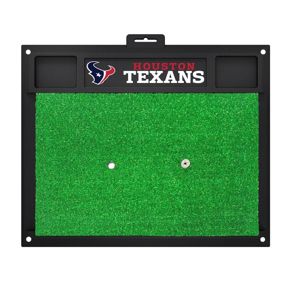 NFL Houston Texans 17 in. x 20 in. Golf Hitting Mat